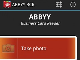 ABBYY Business Card Reader 2.0 для Андроид