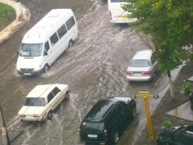 Одесса, дождь