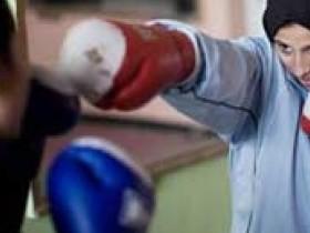 бокс,в,хиджабах