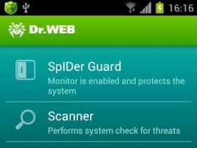 Dr.Web Light для Андроид