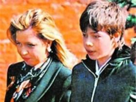 Наталья Медведева,сын