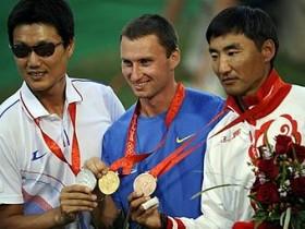 Пак Кен Мо,Виктор Рубан и Баир Баденов (слева направо)