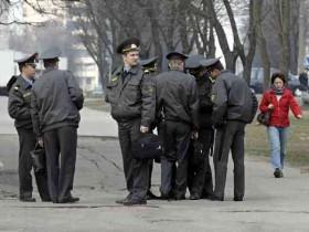 Украинские работники милиции
