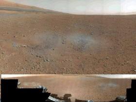 марс, панорама