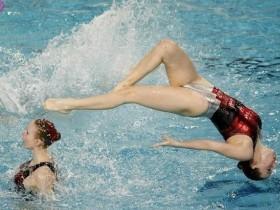 синхронное,плавание