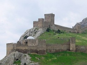 Судакскую,крепость