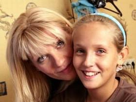 Ардова с дочкой