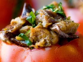 помидоры с грибами