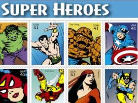комиксы,марки