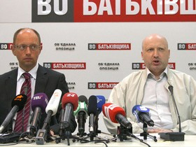 оппозиция, яценюк, турчинов