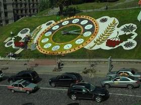 часы, цветы, Киев