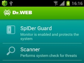 Dr.Web Light для Android