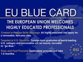 синяя карта, Blue Card