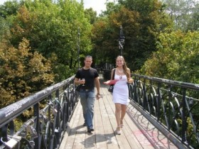 мост,увлеченных