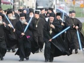 Активисты добровольных православных дружин