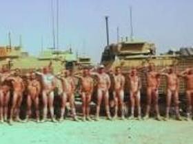 Военные, голые