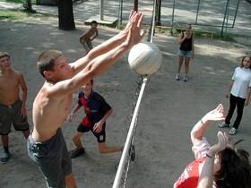 волейбол, физкультура