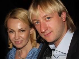 Евгений Плющенко,Яна Рудковская