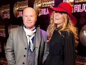 Анжелика Агурбаш с мужем