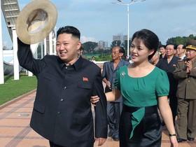 КНДР, Ким Чен Ун с супругой