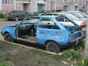 покинутые авто