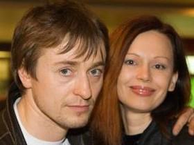 Сергей Безруков с супругой