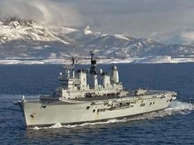 Великобритания реализует на металлолом авианосец Ark Ройял