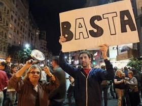Аргентина,митинг