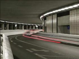 Гран,при,Монако,,туннель