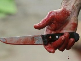 драка,ножик