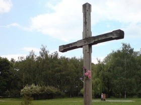 памятный,крест,Елене,Телиге