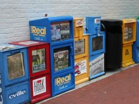 автомат,газеты