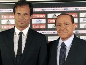 Аллегри,Берлускони,