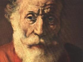 Рембрант,«Портрет,старика»