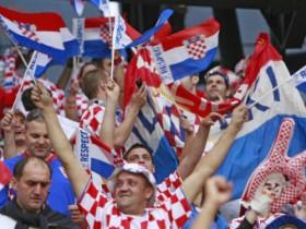 Хорватия,болельщики