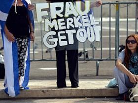 греция, протест,