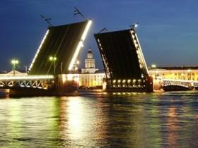Санкт-Петербург,разводной мост