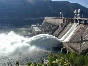 Изготовление электрической энергии ГЭС составило 8 025,2 млрд кВт.ч