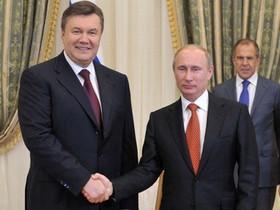 янукович,Путин