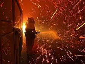 пожары