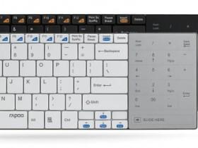 RAPOO E9080,беспроводная клавиатура,