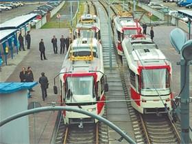 трамвай,скоростной,Троещина