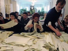 выборы,подсчет голосов