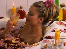 горячая,ванночка