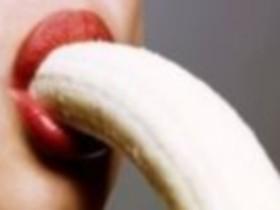 Ротовой,секс,банан