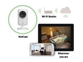 NetCam Wifi Camera для видеонаблюдения в любое время суток