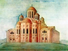 Десятинная,церковь