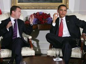 Медведев и Обама
