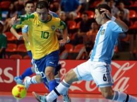 минифутбол,Аргентина - Бразилия,