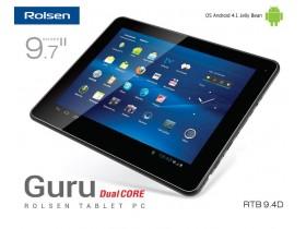 Планшетник Rolsen RTB 9.4D GURU на Андроид 4.1